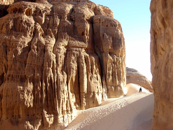 Sinai Desert scenery by Gail Simmons