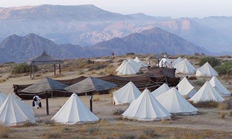 Rummana campsite, Wadi Dana, Jordan