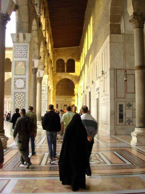 Syria - Great Umayyad Mosque Damascusweb