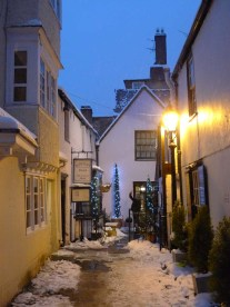 Oxford in the snow ©Gail Simmons