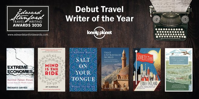Debut Travel Writer shortlist